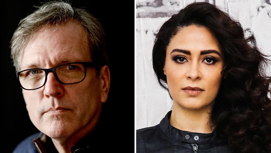 Martin Donovan and Yasmine Al Massri - Split - Getty - H 2017