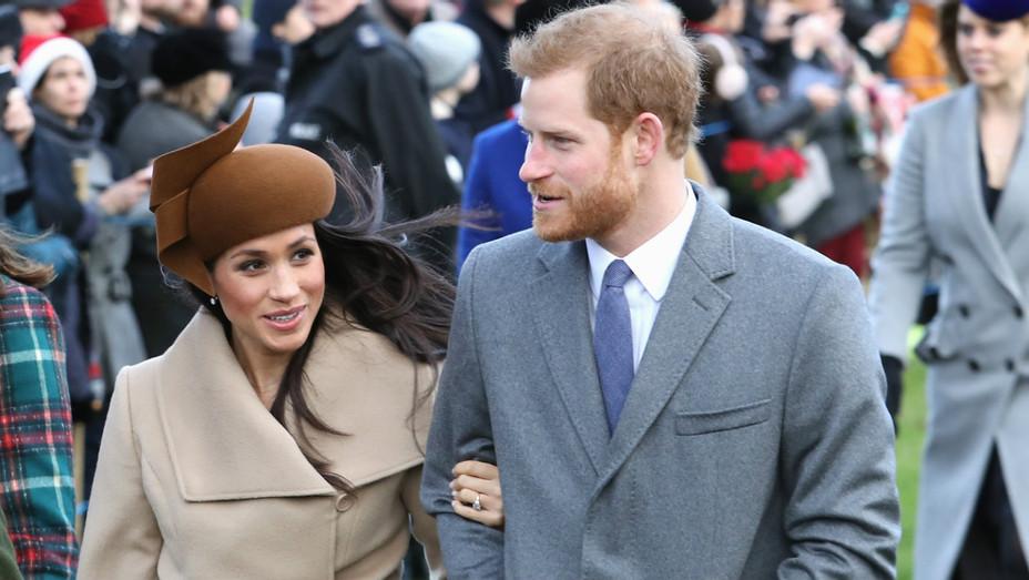 Meghan Markle Prince Harry Christmas Day embed - H