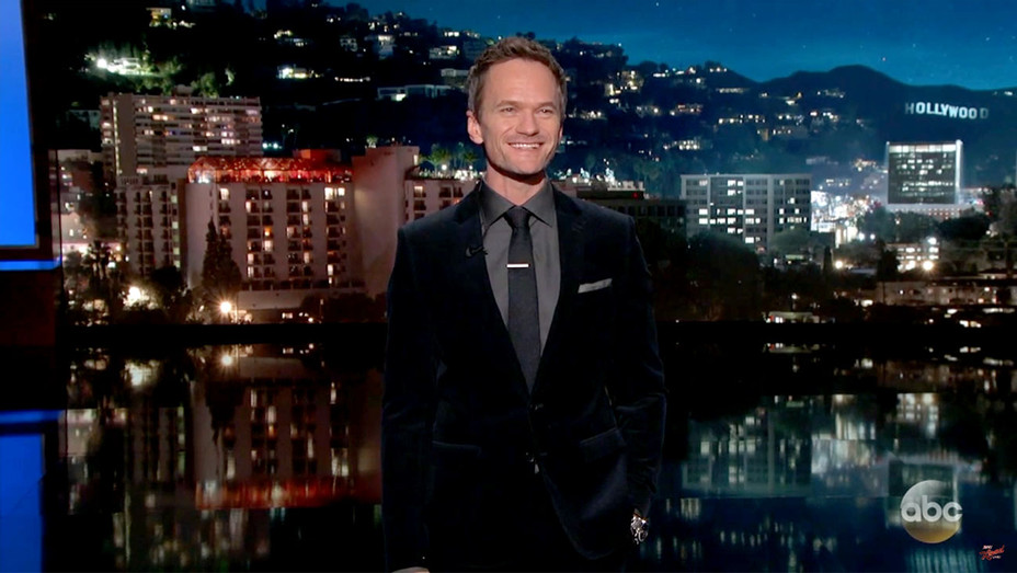 Neil Patrick Harris' Guest Host Monologue on Jimmy Kimmel Live- Screen Shot- H 2017
