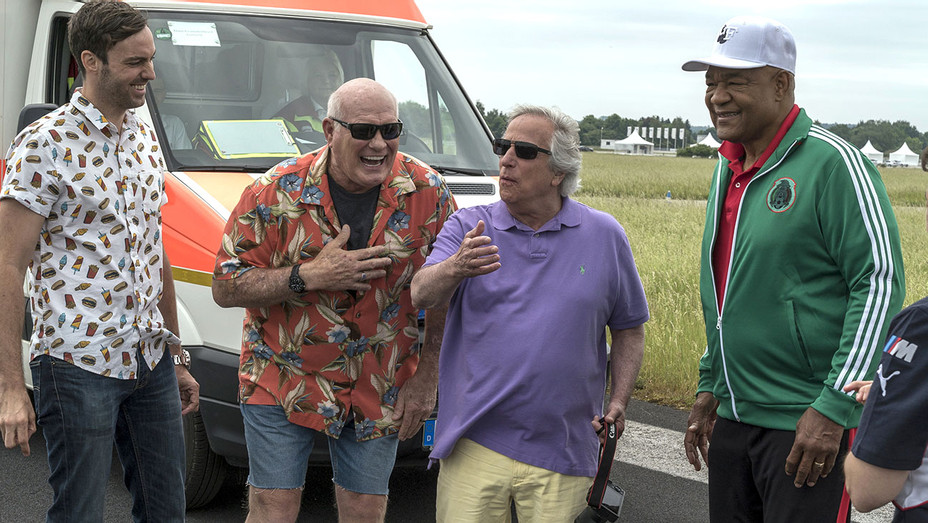 Better Late THan Never -Episode 201 - Jeff Dye, Terry Bradshaw, Henry Winkler, George Foreman  -H 2017