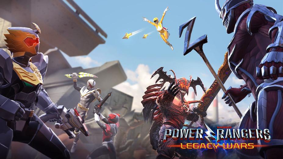 Power Rangers Legacy Wars Art - Publicity - H 2017