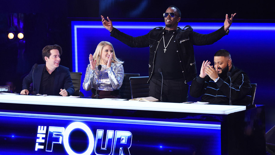 THE FOUR BATTLE FOR STARDOM - Charlie Walk, Meghan Trainor, Sean Diddy Combs and DJ Khaled  - H 2017