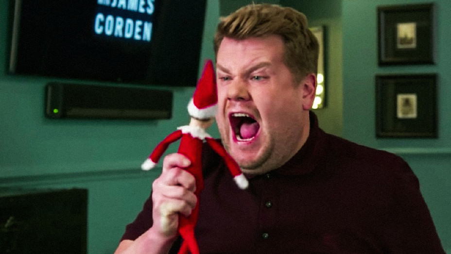 The Late Late Show with James Corden The Elf on the Shelf Skit - Screenshot - H 2017