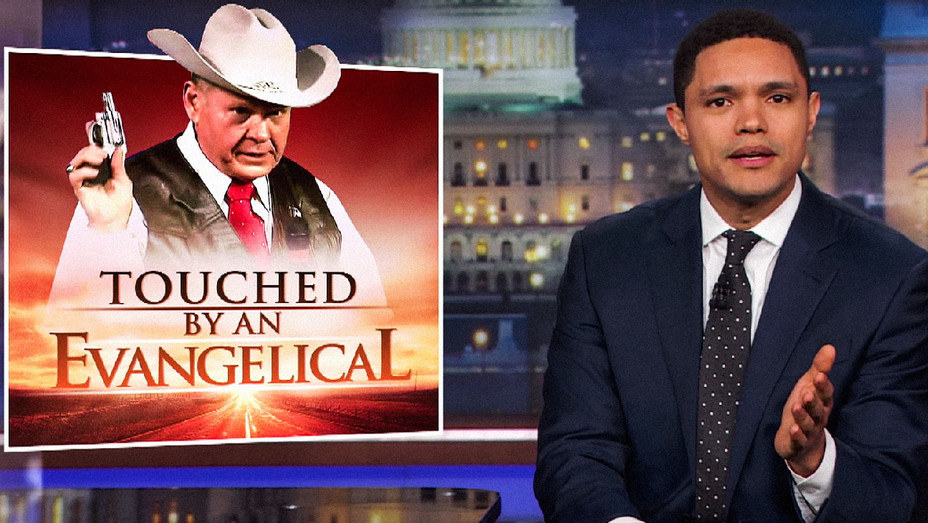 The Daily Show with Trevor Noah Roy Moore - Screenshot - H 2017