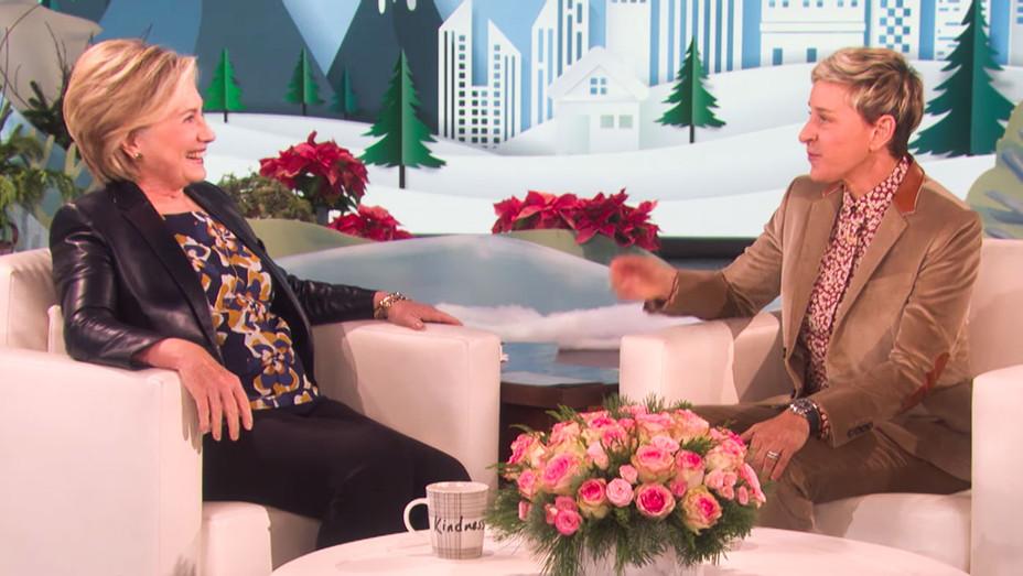 The Ellen Show Hillary Clinton Appearance - Screenshot - H 2017