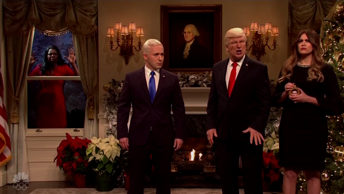 Baldwin Christmas Trump SNL - H 2017 Screengrab
