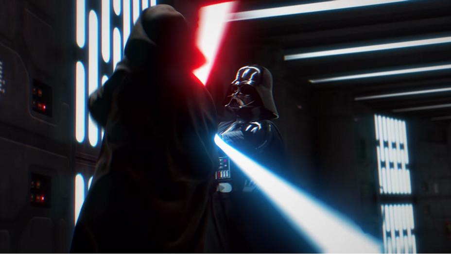 Vader Obi Wan Fight - H 2017