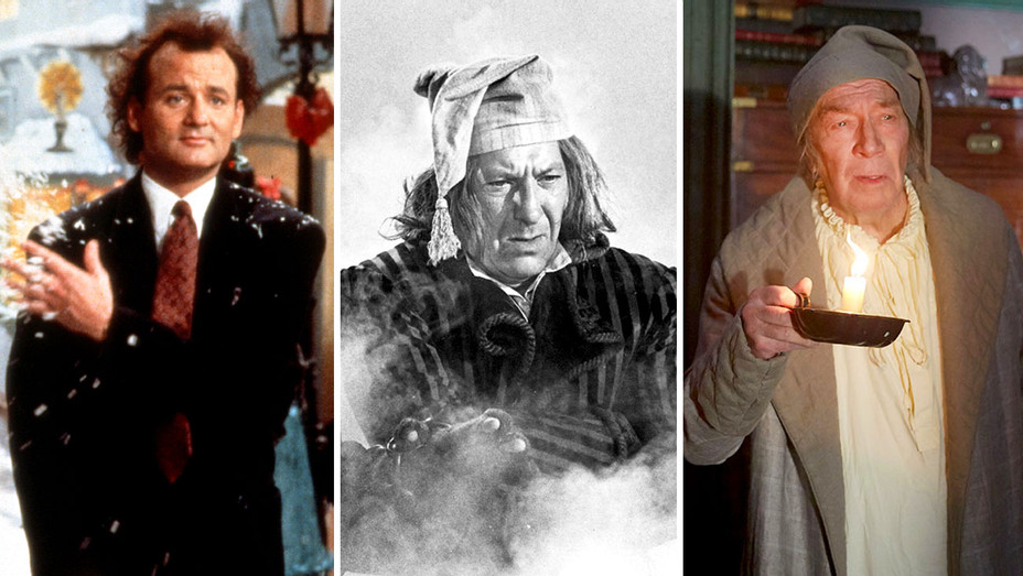 Scrooged, The Odd Couple and The Man Who Invented Christmas - Split- H 2017