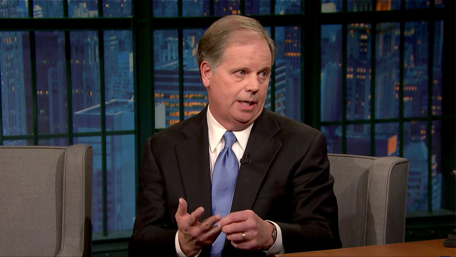 Senator-Elect Doug Jones Wants Us to Listen to President Trump's Accusers Screen Shot-H 2017