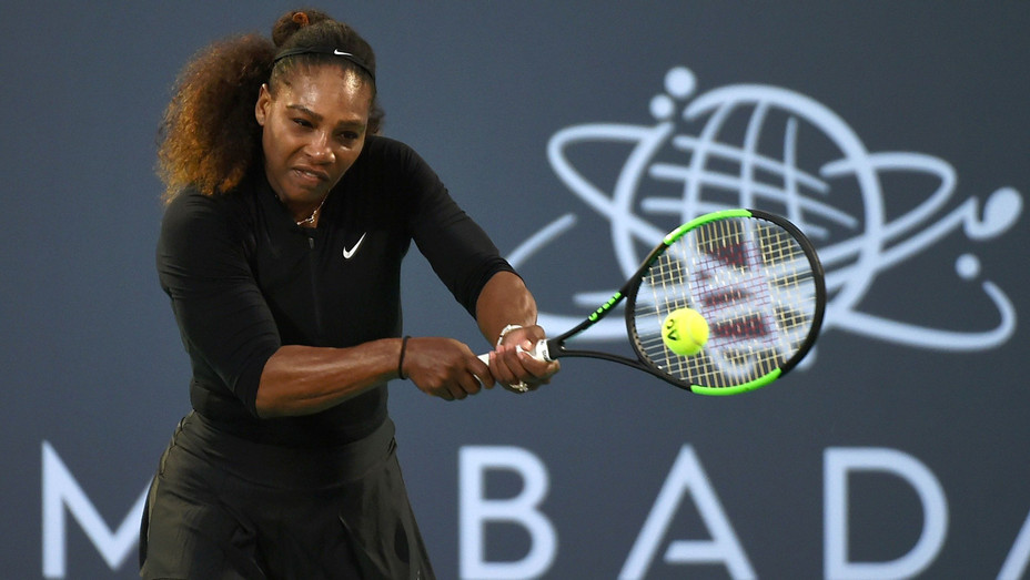 Serena Williams at Mubadala World Tennis Championship - H Getty 2017