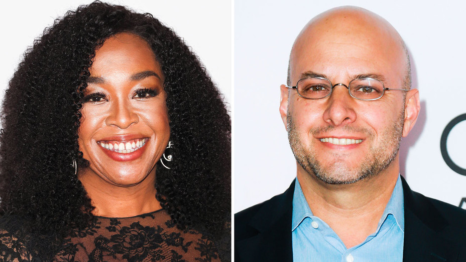 Shonda Rhimes and Chris Silbermann - Split - Getty - H 2017