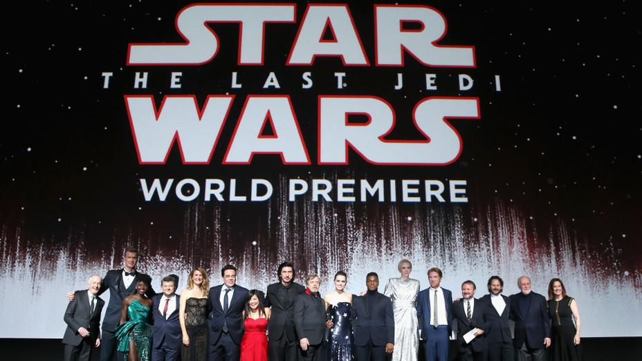 'Star Wars: The Last Jedi' Cast Inside Shrine Auditorium - H Getty 2017