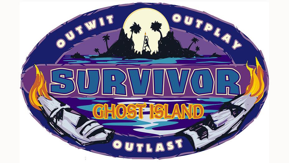 SURVIVOR  -Ghost Island Logo  -Publicity-H 2017