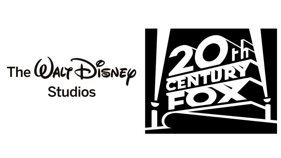 Disney Logo and 20th Century Fox Logo - Split - Publicity - H 2017