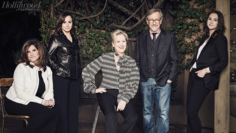 """Steven Spielberg and Meryl Streep on Trump, News and Why 'The Post' Had to Be Made Now: """"Everyone I Know Is Scared"""""""