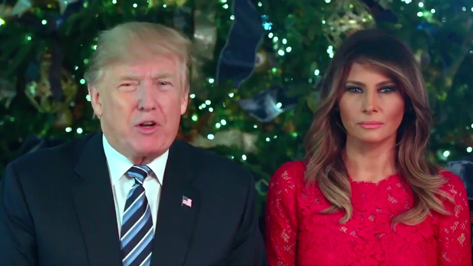 Trump Melania Christmas address - H