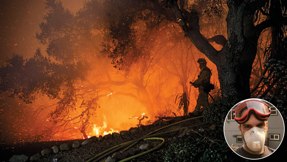 Ventura Fires and Charlie McDowell - One Time Use Only - Inset - Getty - H 2017