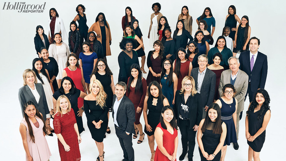 Women in Entertainment Class Photo 2017 - Mentees - Photographed by Austin Hargrave-H 2017
