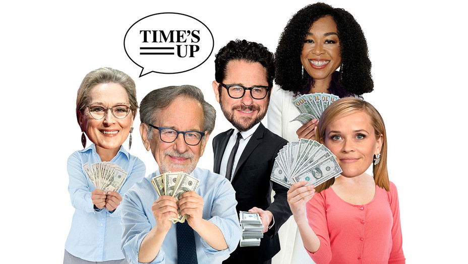 Hollywood's Latest Status Symbol Ranking High on the Time's Up Donors List -Graphic - H 2018