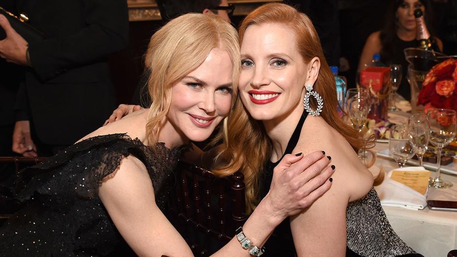 Nicole Kidman and Jessica Chastain