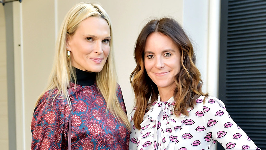Molly Sims and Alison Loehnis - NET-A-PORTER x Learning Lab Ventures  -Getty-H 2018