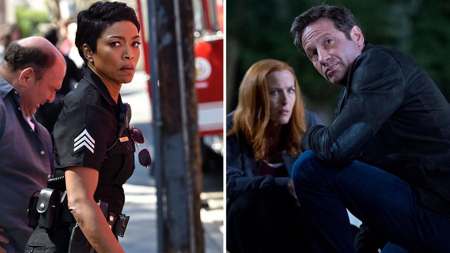 911 and X-Files -Split-Publicity-H 2018