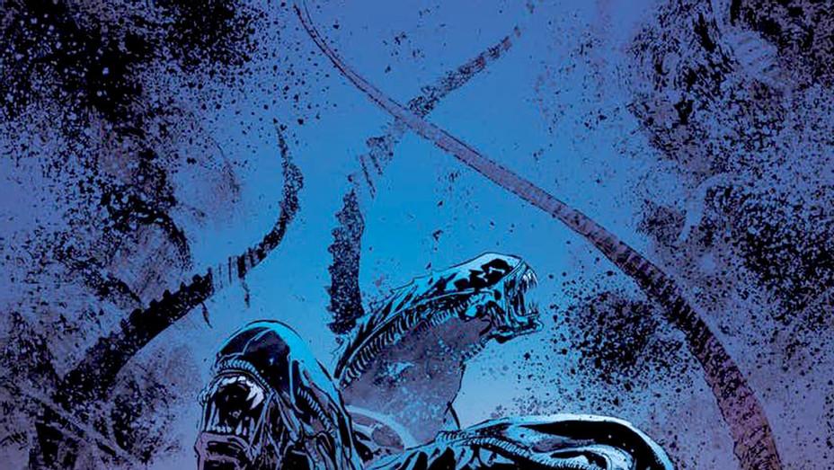 Aliens Dust to Dust Cover - Dark Horse Comics -Publicity -P 2018