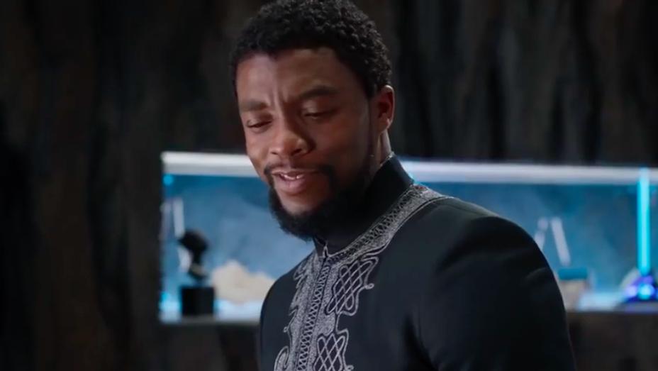 Chadwick Boseman - Black Panther Rise TV Spot Still - H 2018
