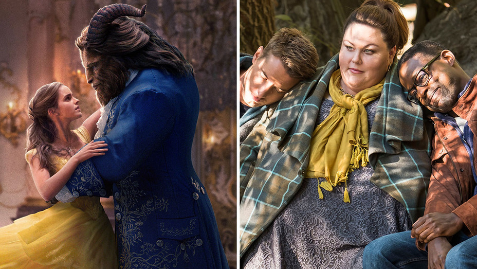 beauty and the beast and this is us - Publicity-H 2018