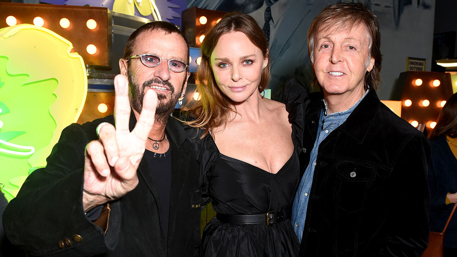 Stella McCartney Launch of Autumn 2018 Collection - Ringo Starr, Stella McCartney, Paul McCartney - Publicity-H 2018