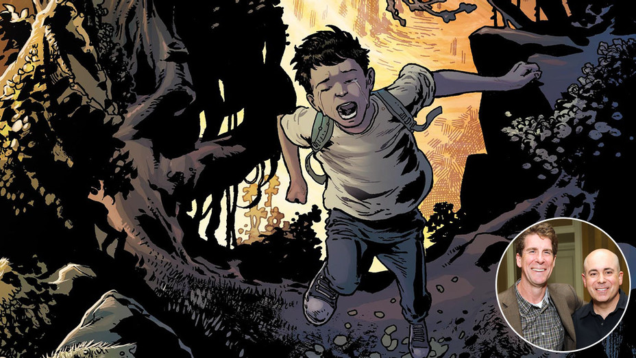 Birthright Comic and Ken Daurio and Cinco Paul - Inset - Getty - H 2018