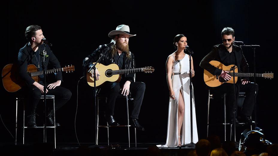 Brothers Osborne_Maren Morris_Eric Church_Grammys_Onstage - Getty - H 2018