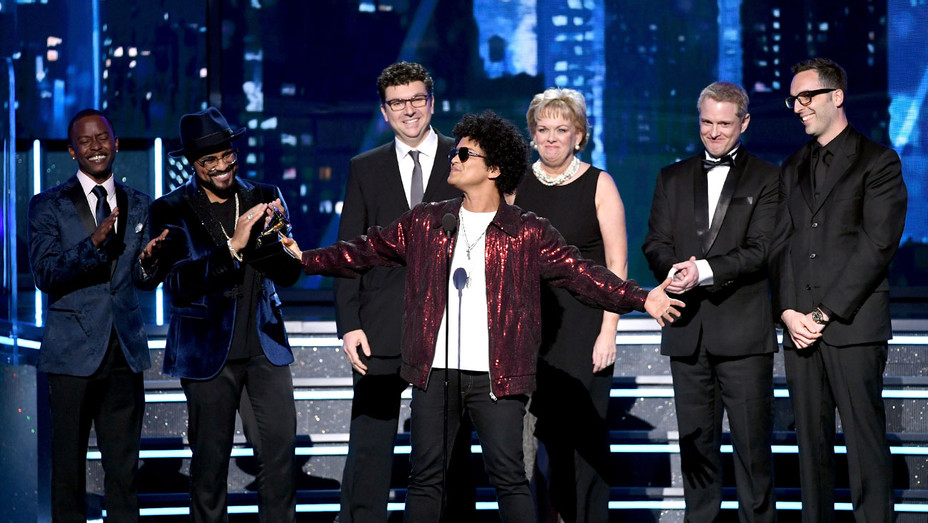 Bruno Mars_Record of the Year_Grammys_Onstage.jpg - Getty - H 2018