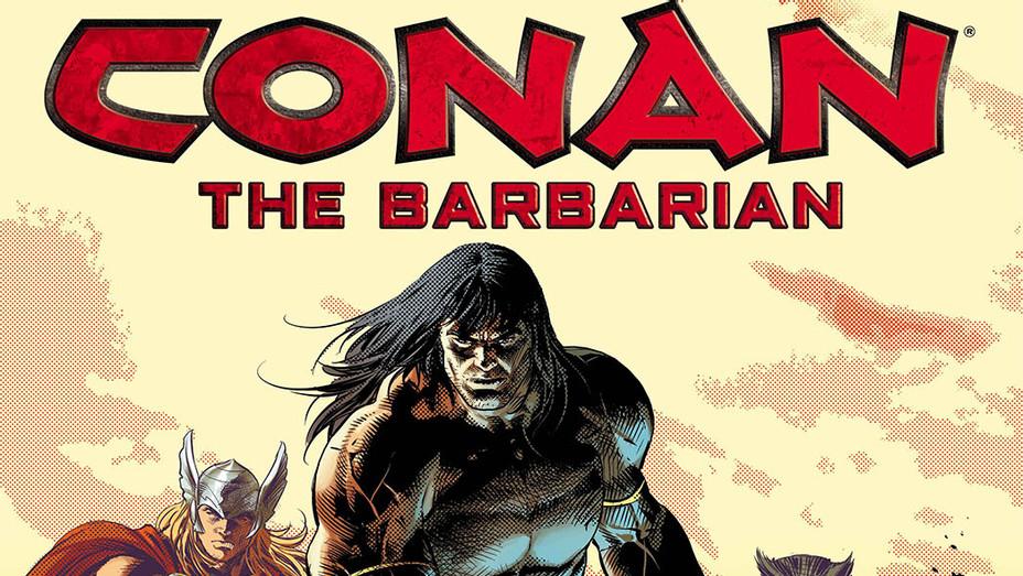 Conan the Barbarian Cover - Publicity - P 2018
