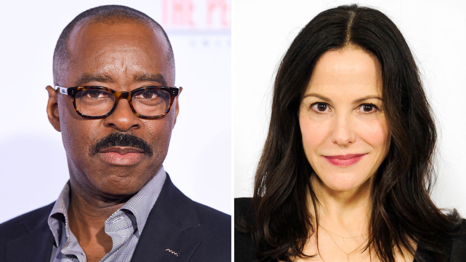 Courtney B. Vance and Mary Louise Parker - Split - Getty - H 2018