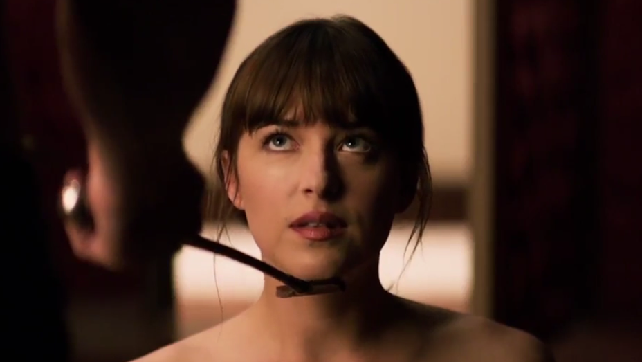 Dakota Johnson - Fifty Shades Freed Trailer Mrs. Grey Will See You Now Still - H 2017