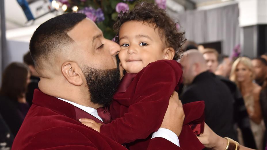 DJ Khaled and son Asahd Tuck Khaled  - Getty - H 2018