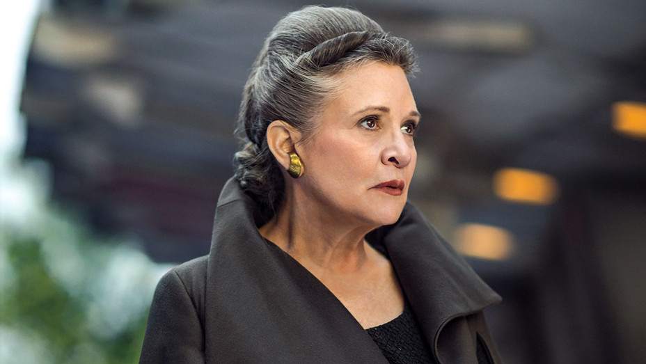 Oscar - Contending Wardrobe - Star Wars: The Last Jedi Carrie Fisher- Publicity-H 2018