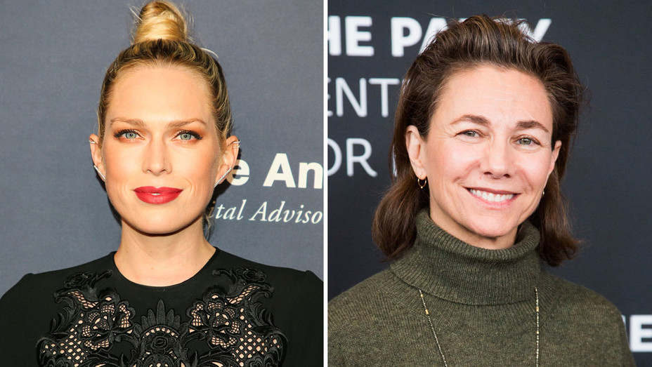 Erin Foster and Ilene Chaiken - Split - Getty - H 2018