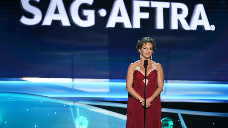 Gabrielle Carteris_SAG_Onstage - Getty - H 2018