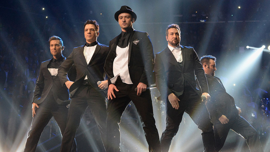 NSYNC -perform during the 2013 MTV Video Music Awards - Getty-H 2018