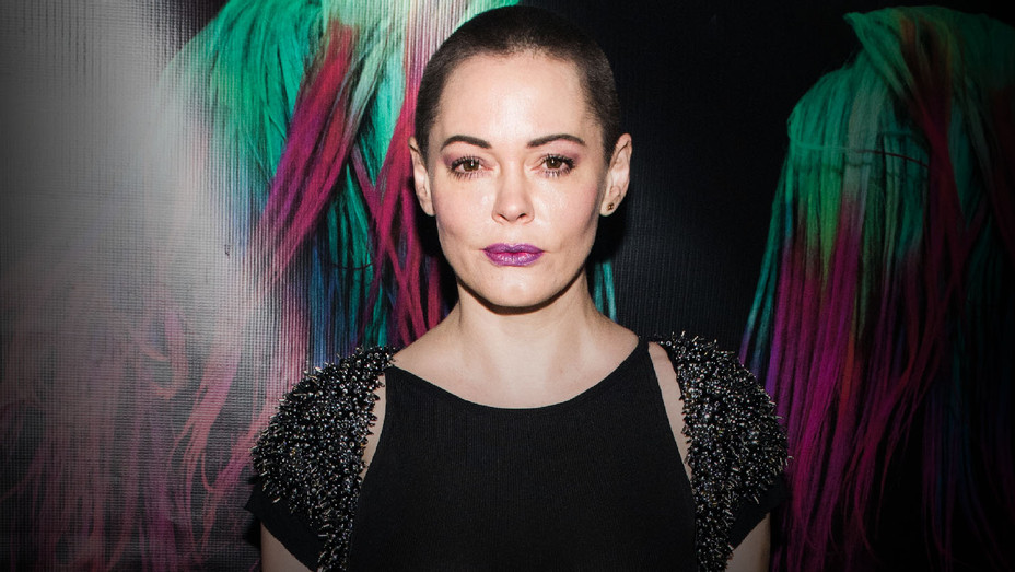Rose McGowan - 2016 Charliewood Exhibition 2 - Getty - H 2018