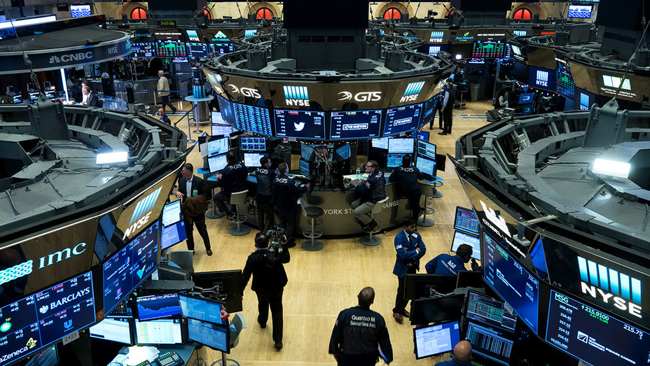 Traders work on the floor of the New York Stock Exchange  - Getty 2018