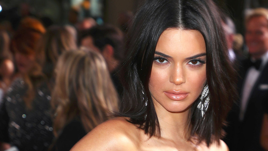 Kendall Jenner celebrates The 75th Annual Golden Globe Awards -Getty-H 2018
