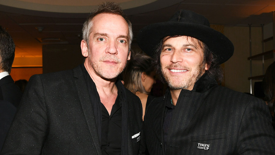 Jean-Marc Vallee and Nathan Ross - 2018 HBO Golden Globe Awards After Party - Getty - H 2018