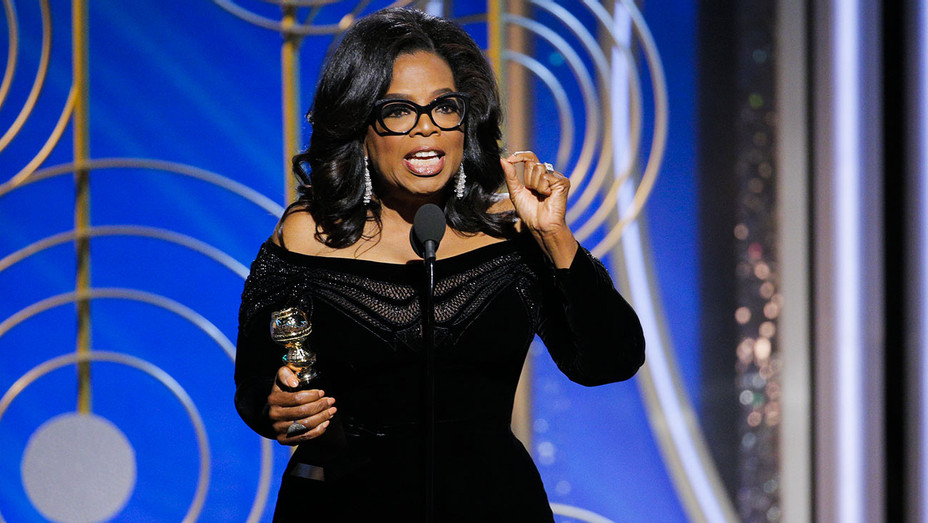 Oprah - 75th Annual Golden Globes - Getty - H 2018