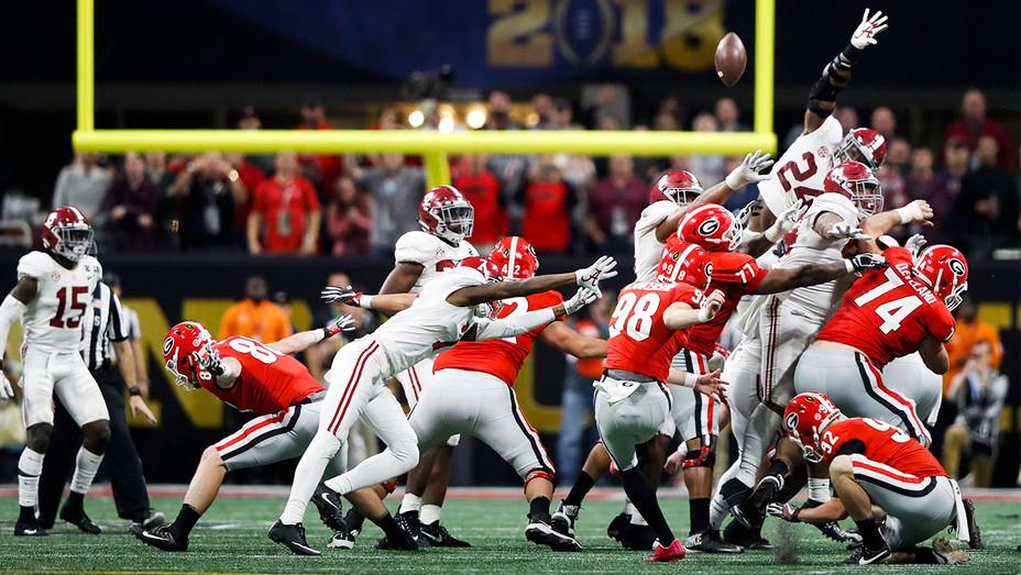 Georgia Bulldogs vs Alabama Crimson Tide Game - Getty - H 2018