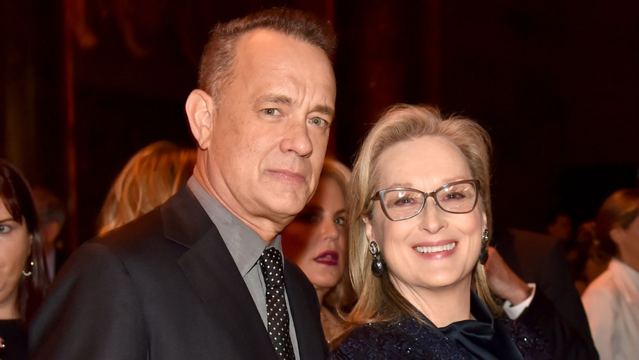 Tom Hanks, Meryl Streep at National Board of Review - Getty - H 2018