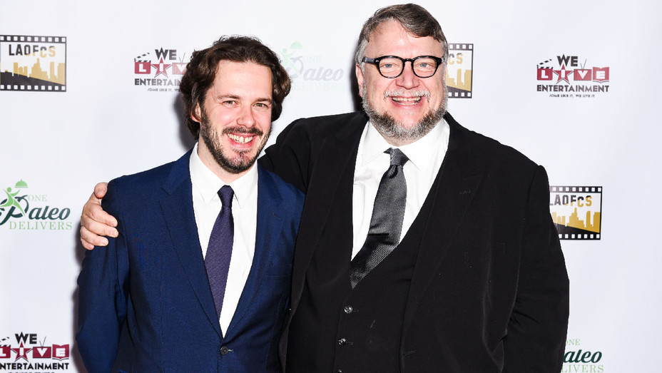Edgar Wright and Guillermo del Toro - 2018 The Inaugutal LA Online Film Critics Society - Getty - H 2018