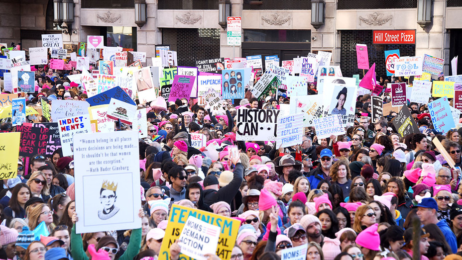 Women's March Los Angeles 2018 - Getty-H 2018